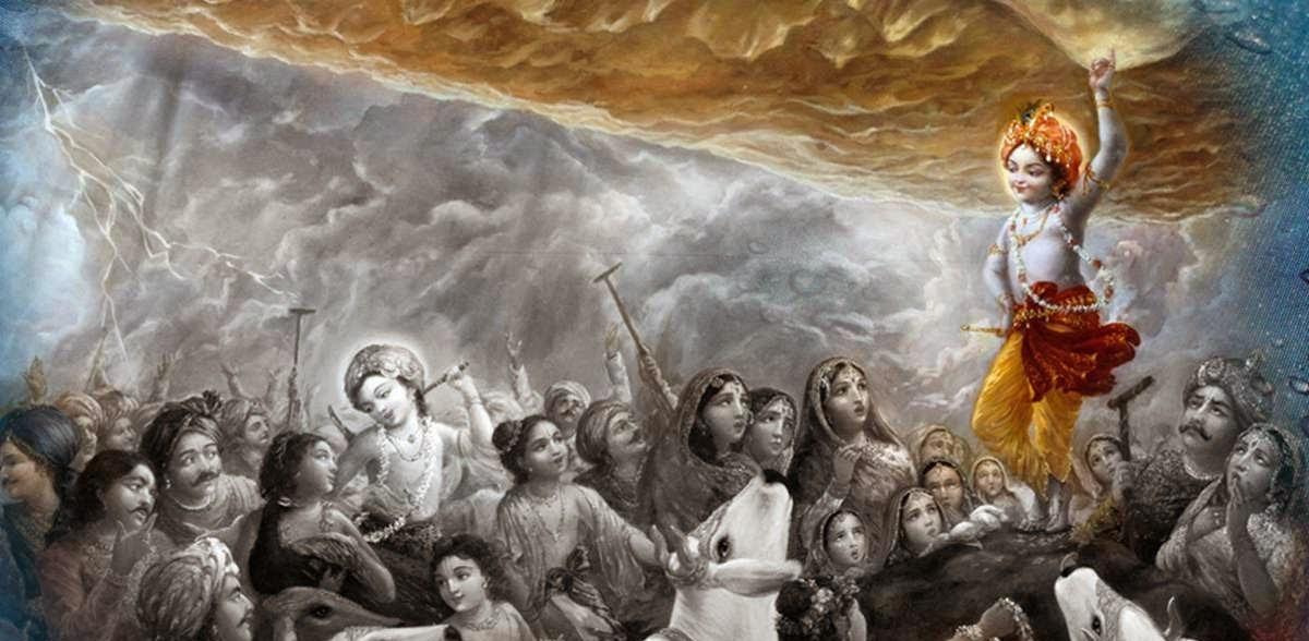 Story of Lord Krishna, Krishna birth story