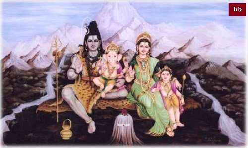 lord ganesha family