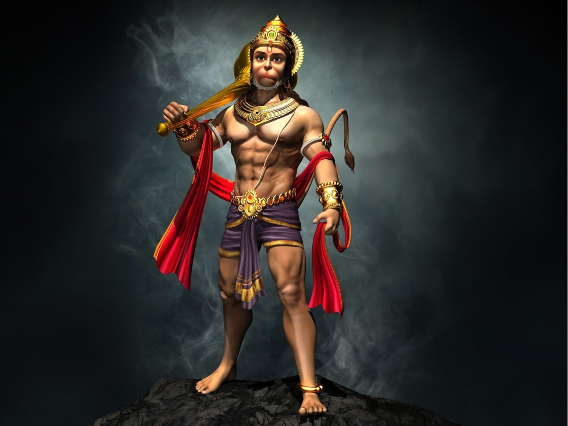 Download Wallpaper Lord Animated - Lord_Hanuman_animated_hd_wallpapers  You Should Have_48983.jpg
