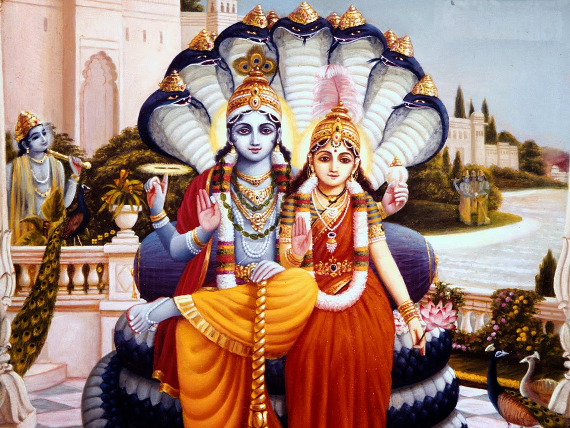 Fantastic Wallpaper Lord Mahavishnu - Lord_Vishnu_maa_lakshmi_image  You Should Have_594635.jpg