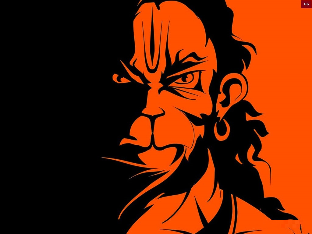 Lord hanuman face wallpaprs