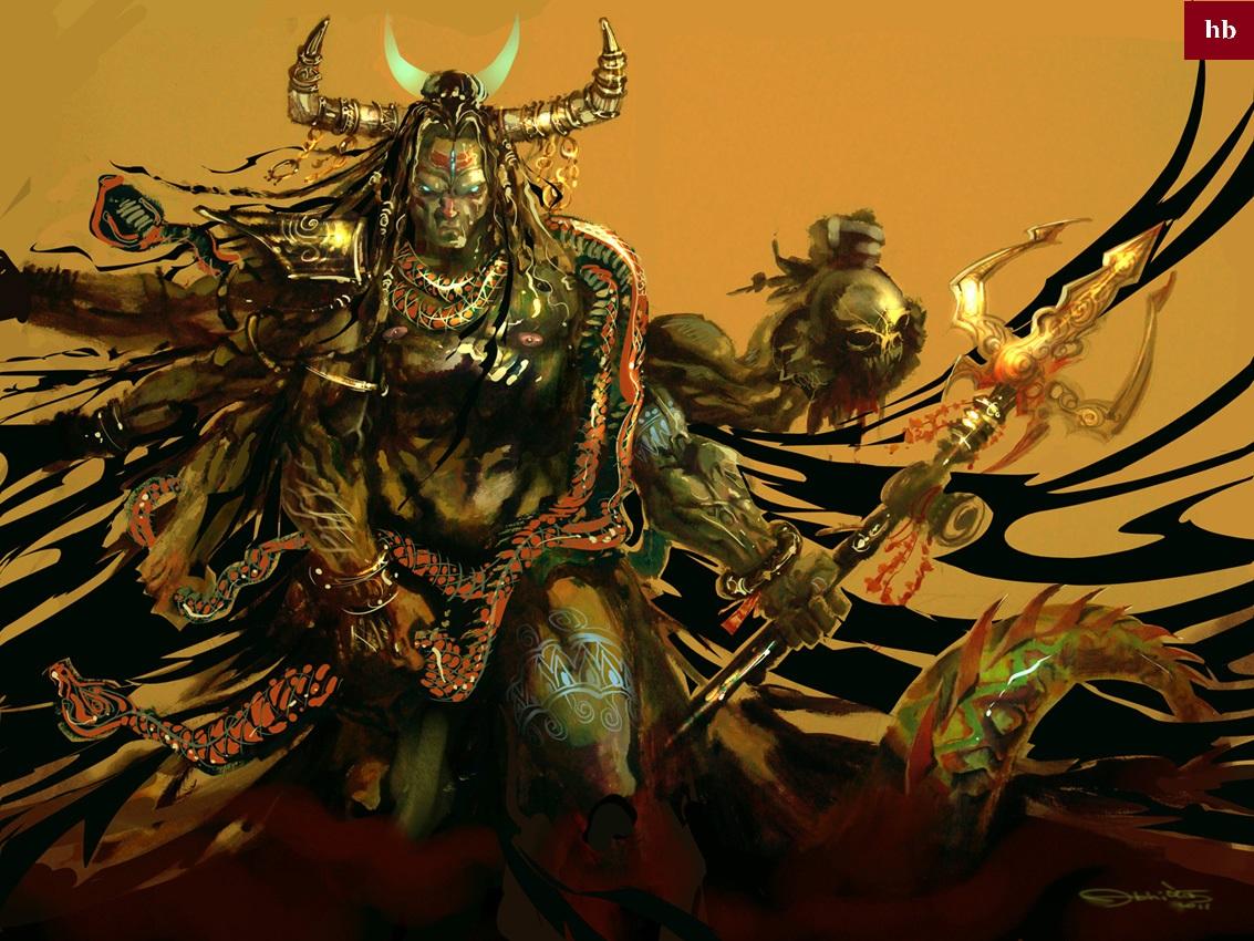 rudra roop of lord shiva