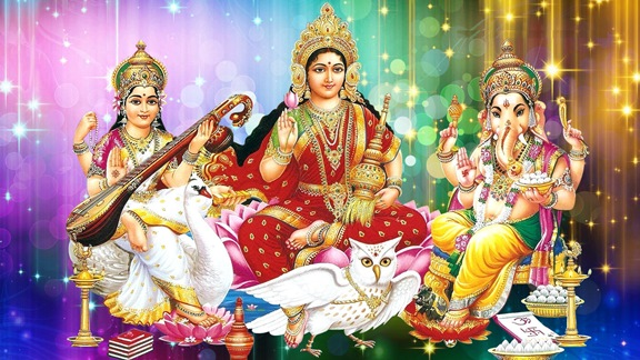maa_laxmi_with_lord_gamesha_and_maa_saraswati