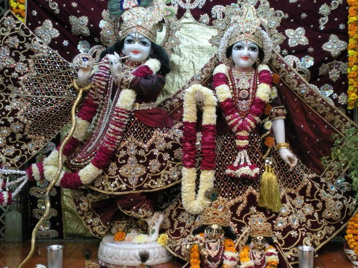 Radha Krishna wallpaper iscon temple image